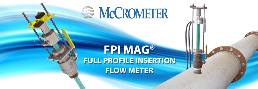 Water Industry Embraces New Generation of Magnetic Flow Meters